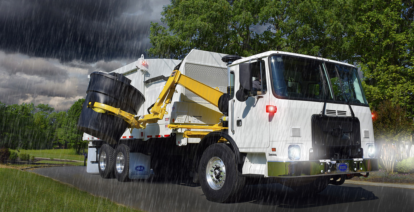 DuraPack Rapid Rail Garbage Truck Bodies