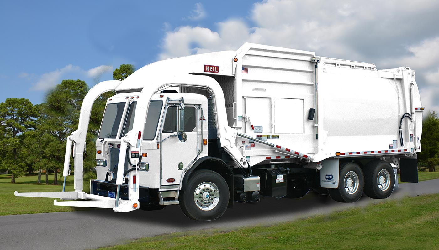 Heil Half Pack Freedom Front Load Garbage Truck Front