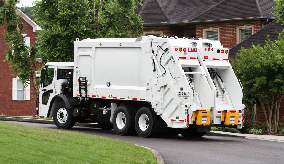 DuraPack 40/60 Split Body Rear Load Garbage Truck