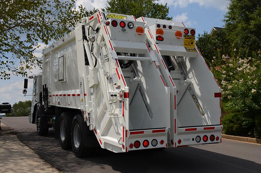 DuraPack 40/60 Split Body Rear Load Garbage Truck