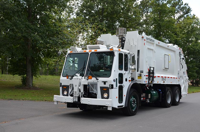 DuraPack 40/60 Split Body Trash Truck