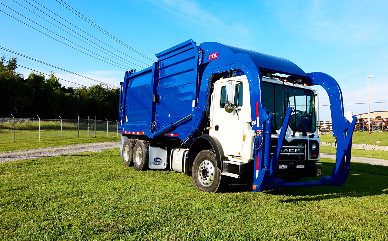 Half/Pack Sierra Front Load Garbage Truck Body