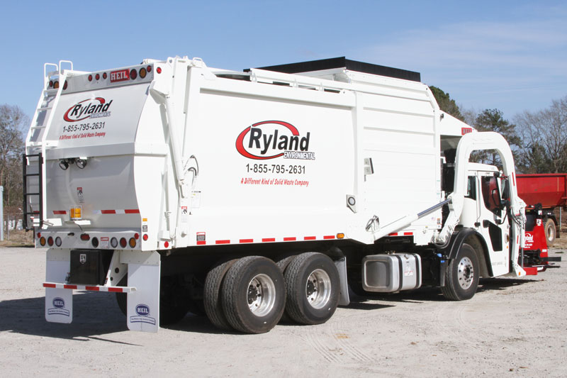 Curotto Automated Frontload Trash Truck