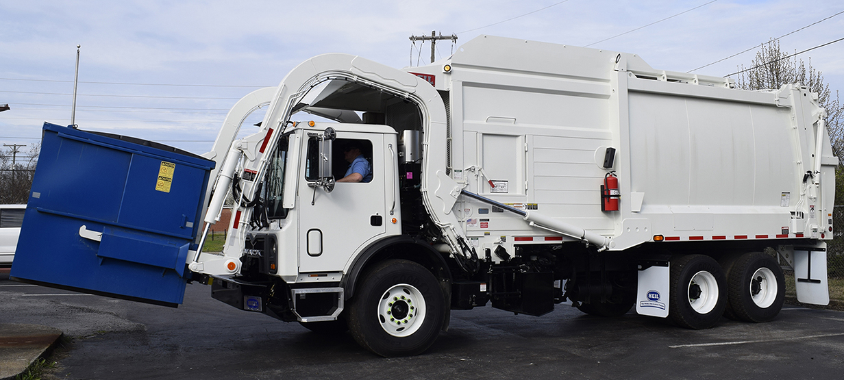 Half/Pack® Commercial Odyssey® Front Load Garbage Truck Bodies