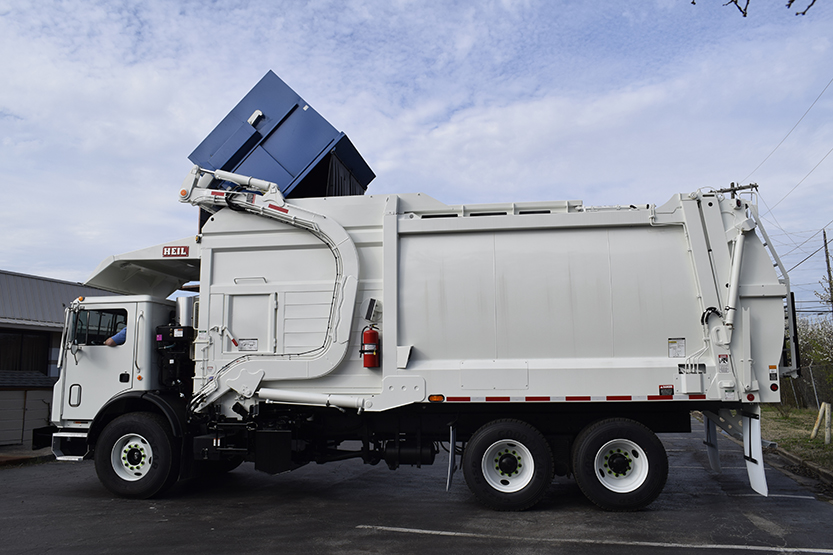 Half/Pack® Commercial Odyssey® Front Load Trash Truck Bodies