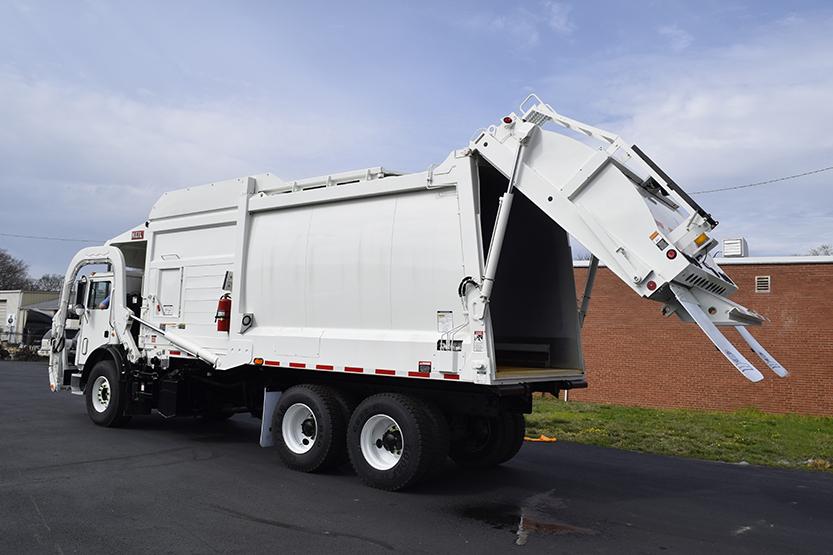 Half/Pack® Commercial Odyssey® Frontloader Garbage Trucks