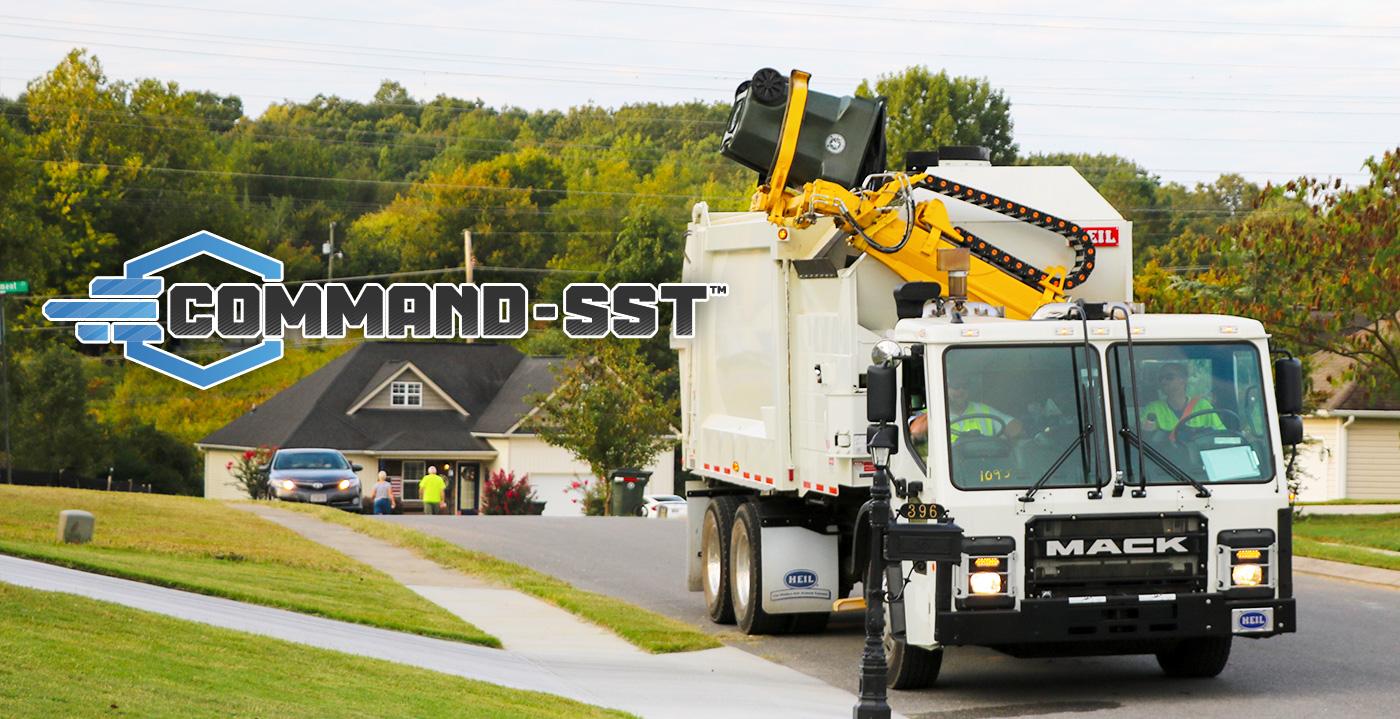 Commander SST Sideload Garbage Truck