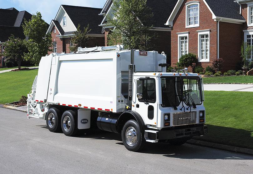 DuraPack 5000 Rearloader Trash Truck body