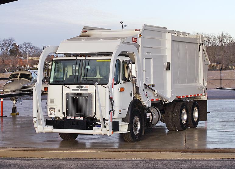 Half/Pack Sierra Frontload Garbage Trucks