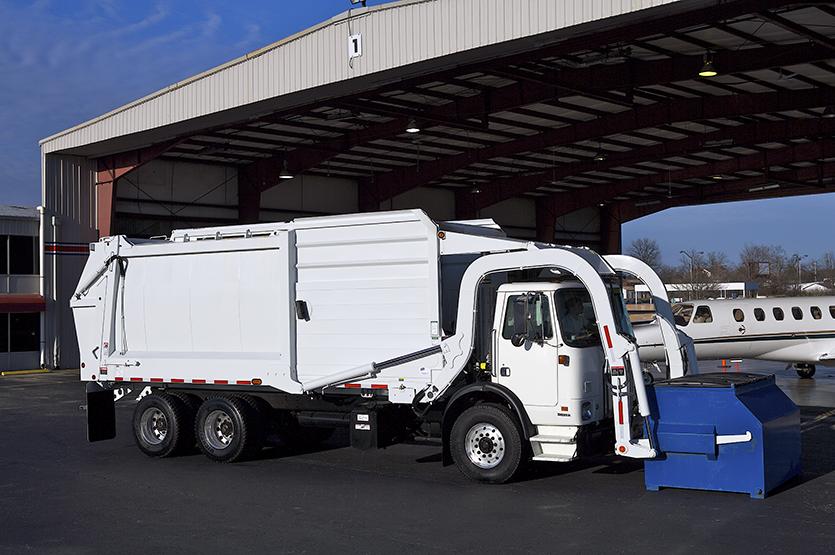 Half/Pack Sierra Frontloader Garbage Trucks