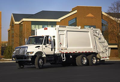 Powertrak Commercial Rear Load Garbage Truck