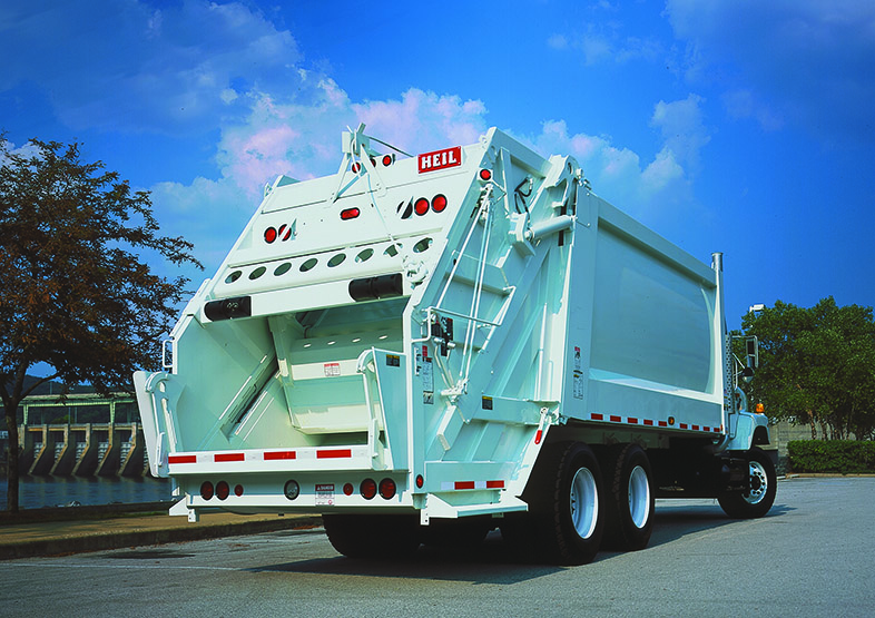 PowerTrak® Commercial Rear Load Garbage Truck Bodies