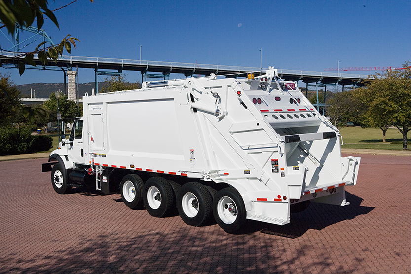 PowerTrak Commercial Plus High Capacity Rear Load Garbage Trucks