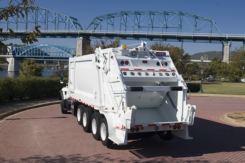 PowerTrak Commercial Plus High Capacity Rear Load Trash Trucks