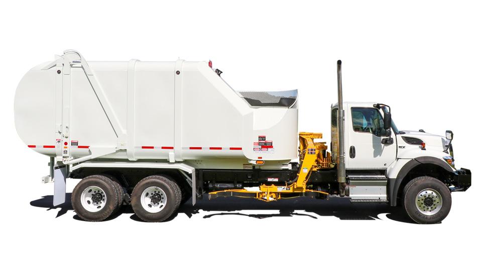 Rapid Rail Sideload Garbage Trucks