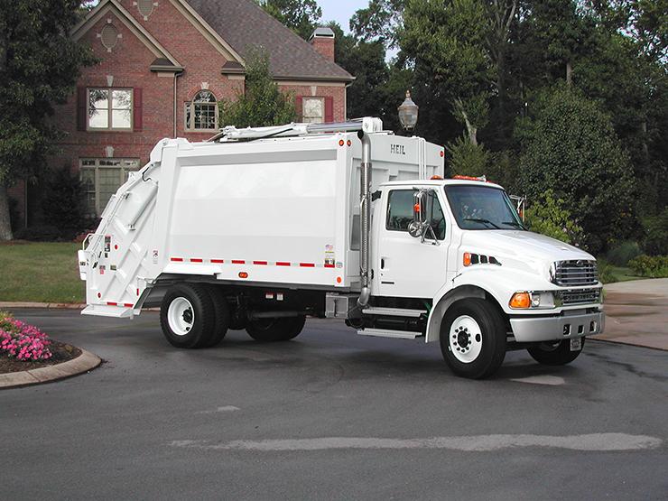 PT 1000 Rearload Garbage Truck Bodies