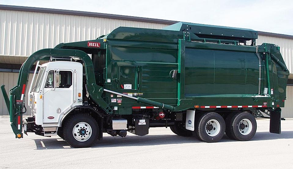 Heil® CNG Front Loaders Garbage Trucks