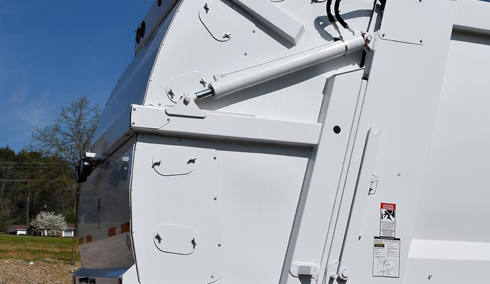 Heil CNRG CNG Garbage Truck Fuel Storage