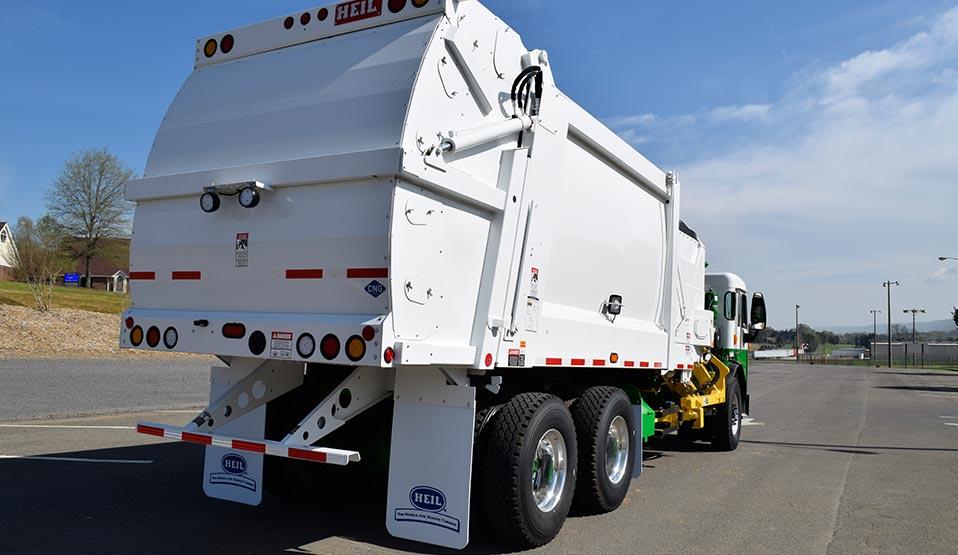 Heil CNRG CNG Garbage Truck Fuel Storage 2