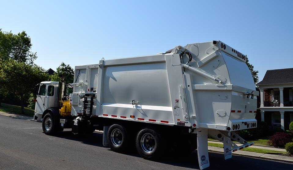 DuraPack Rapid Rail Sideloader Garbage Truck Bodies