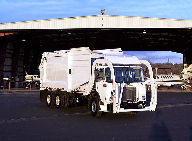 Half/Pack Sierra Front Load Garbage Truck Body
