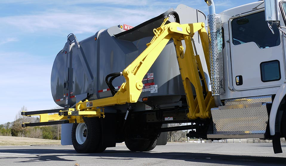 Liberty Automated Side Load Garbage Truck Bodies