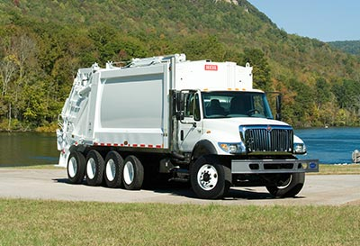 Powertrak Commercial Plus Rear Load Garbage Truck