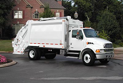 PT1000 Rear Load Garbage Truck