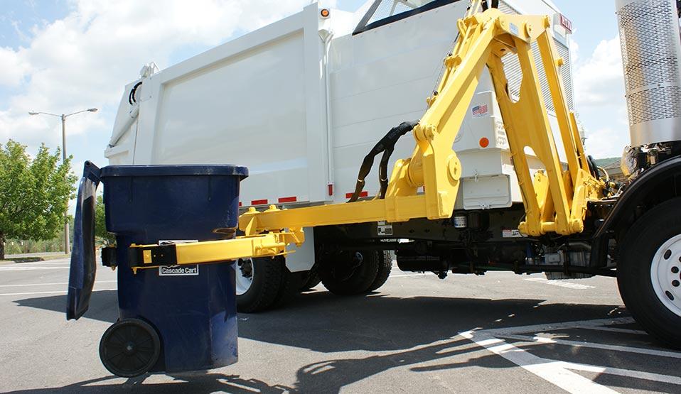 DuraPack Python Sideloader Trash Truck