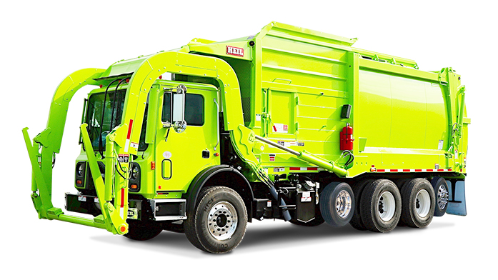 Five Axle Garbage Truck