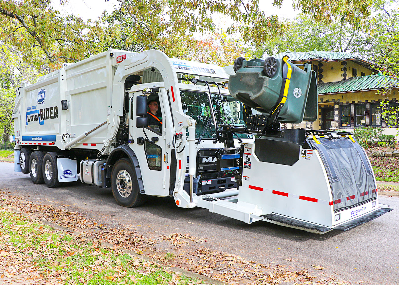 Automated Frontload Garbage Trucks