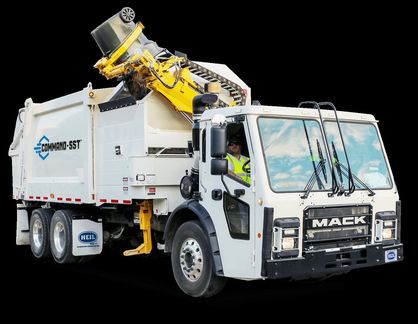 Command-SST Sideload Trash Trucks