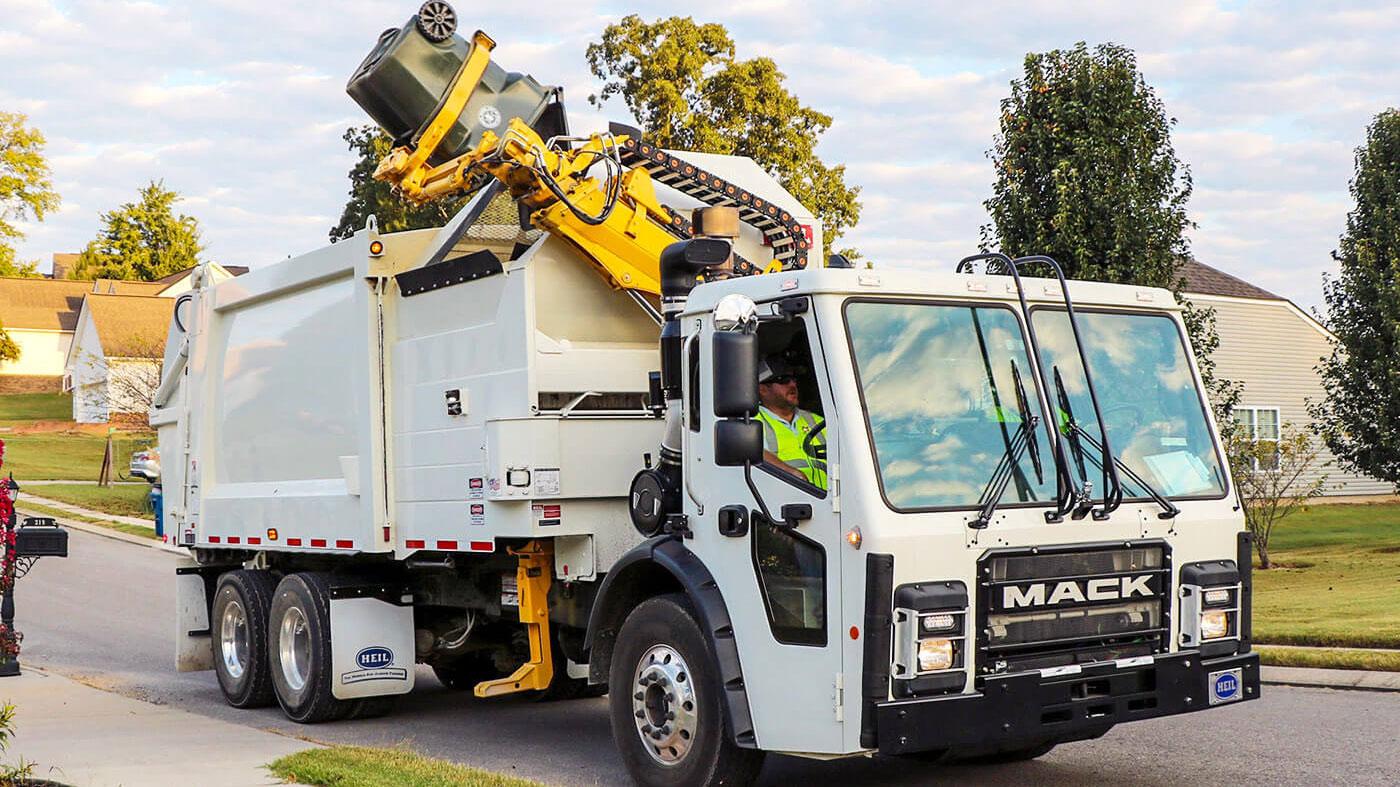 Command-SST Sideload Garbage Truck Video