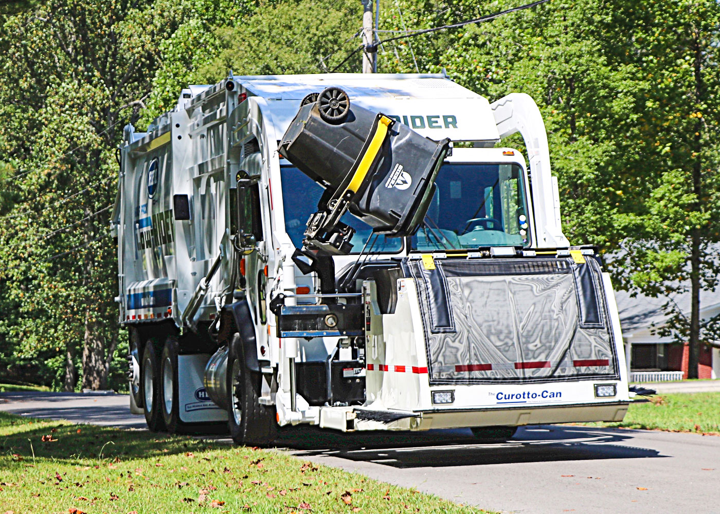Curotto Frontload Garbage Truck Automated Container