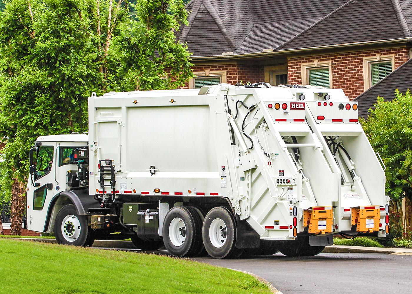 DuraPack 4060 Split Body Rear Load Garbage Truck