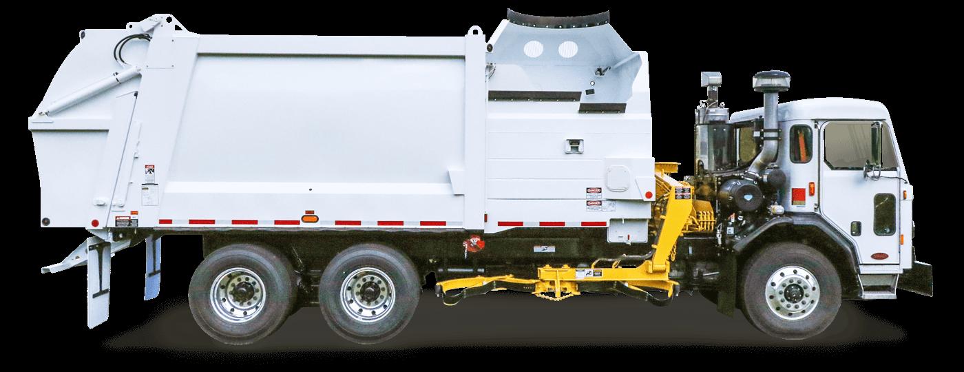 DuraPack Rapid Rail Sideloader Trash Trucks