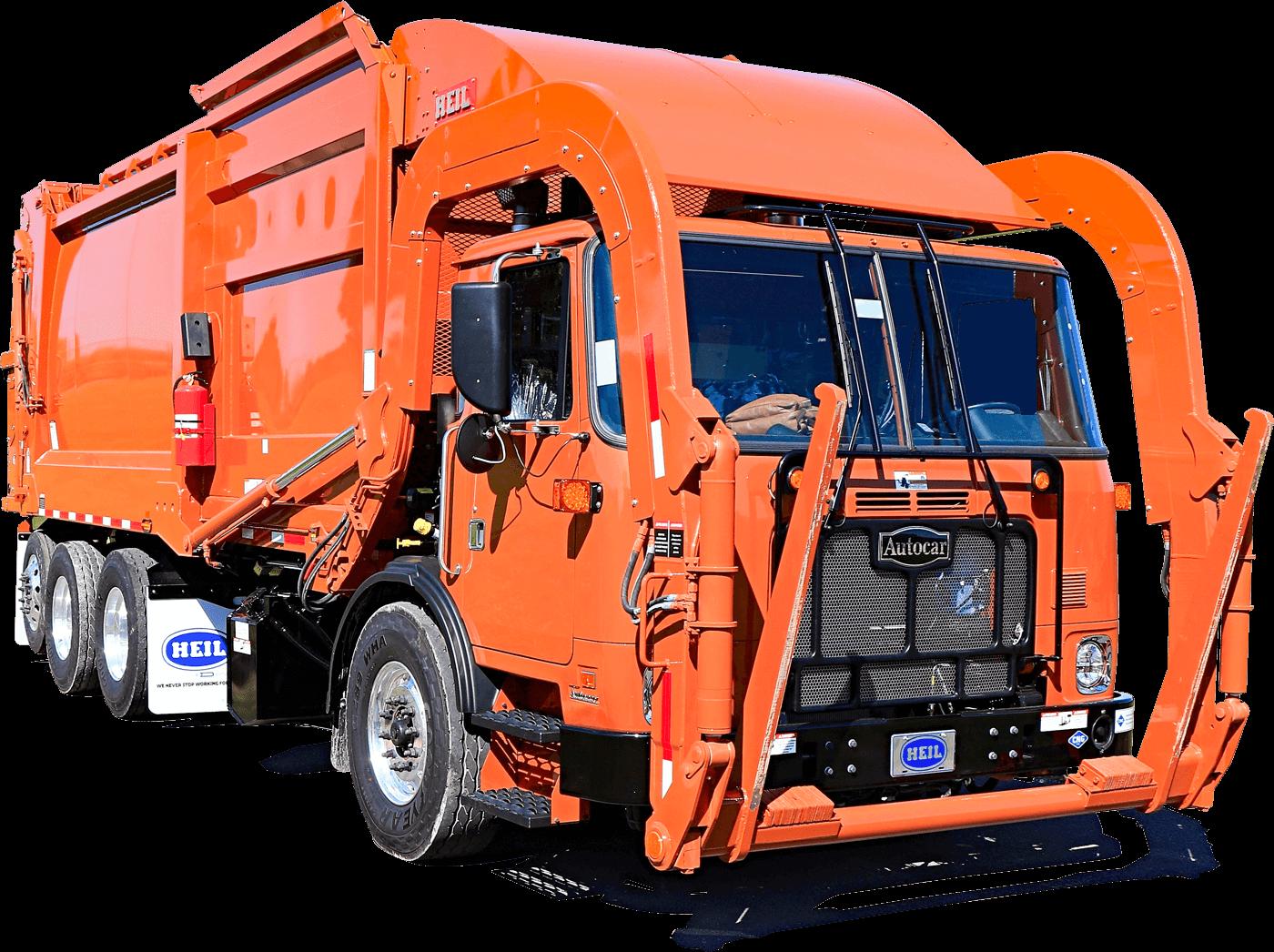 Freedom Frontload Trash Trucks