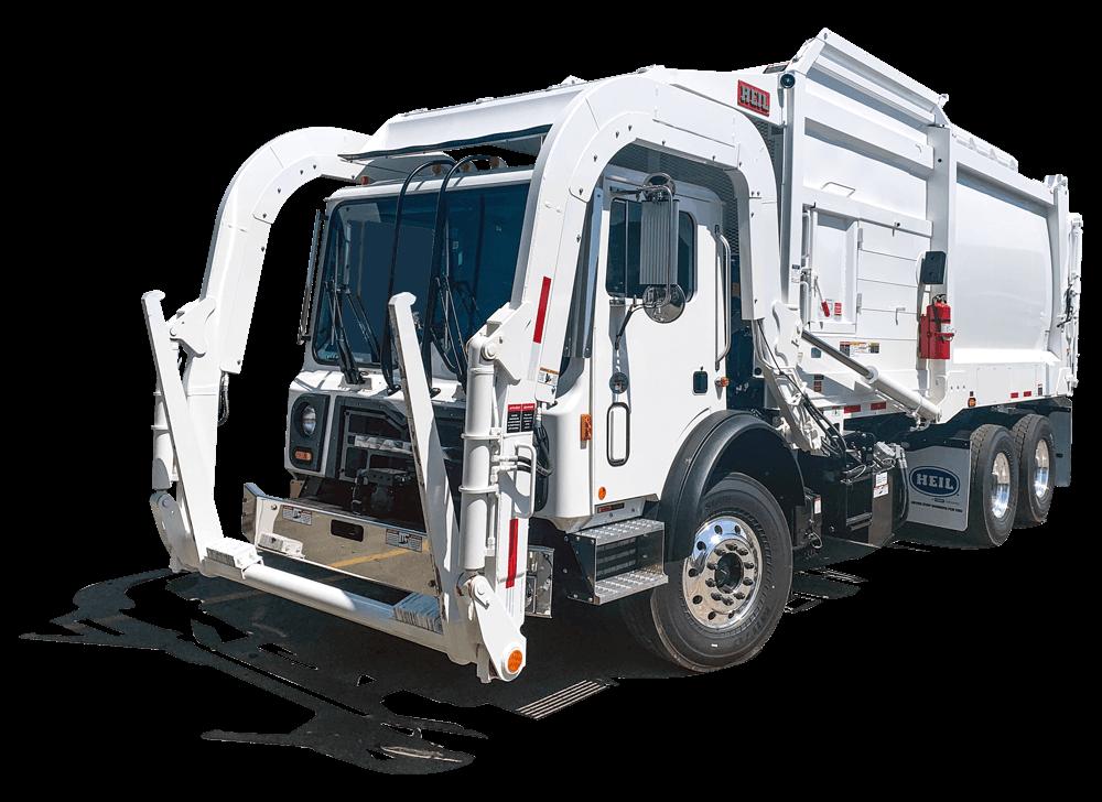 Heil Half/Pack Frontload Trash Trucks