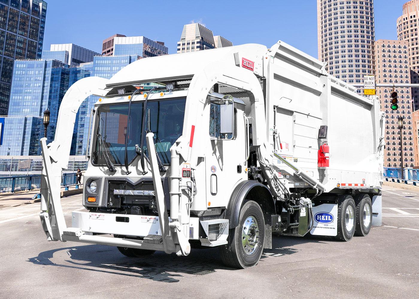 Halfpack Sierra Frontload Garbage Trucks