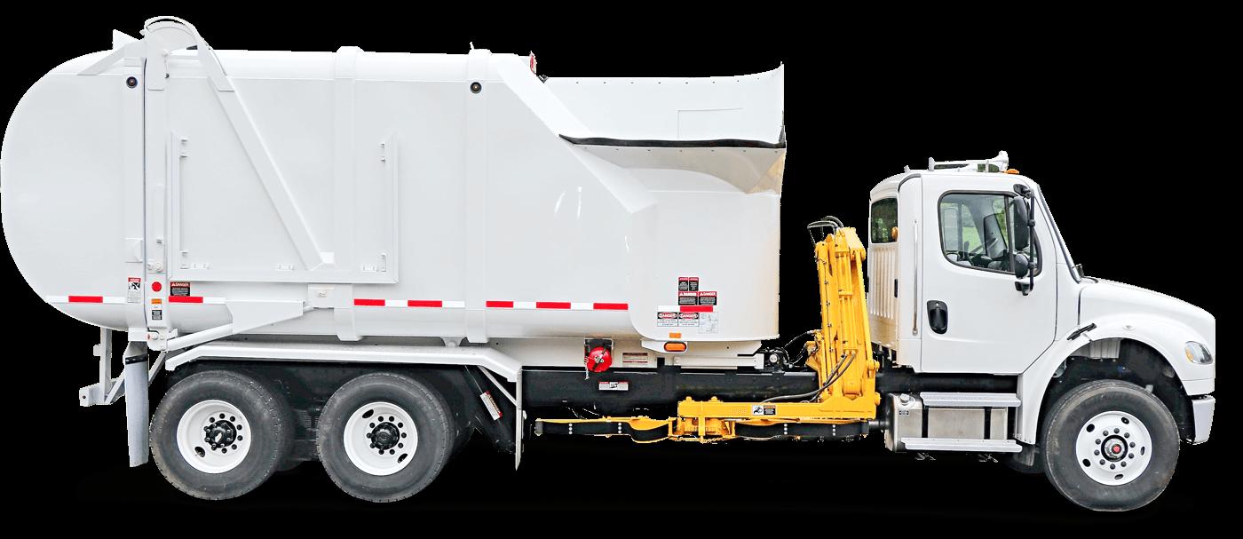 Liberty Sideloader Trash Trucks