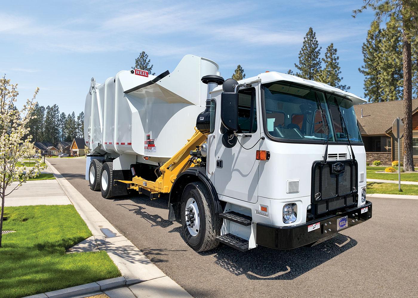 Liberty Sideload Garbage Truck