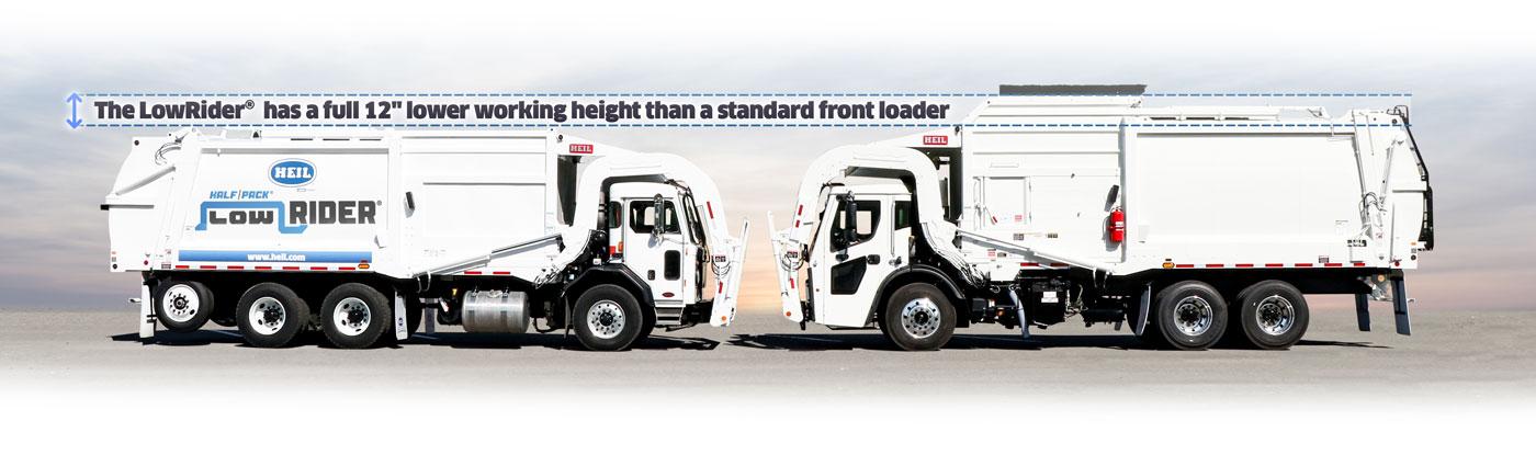 Low Profile Frontload Garbage Truck Comparison
