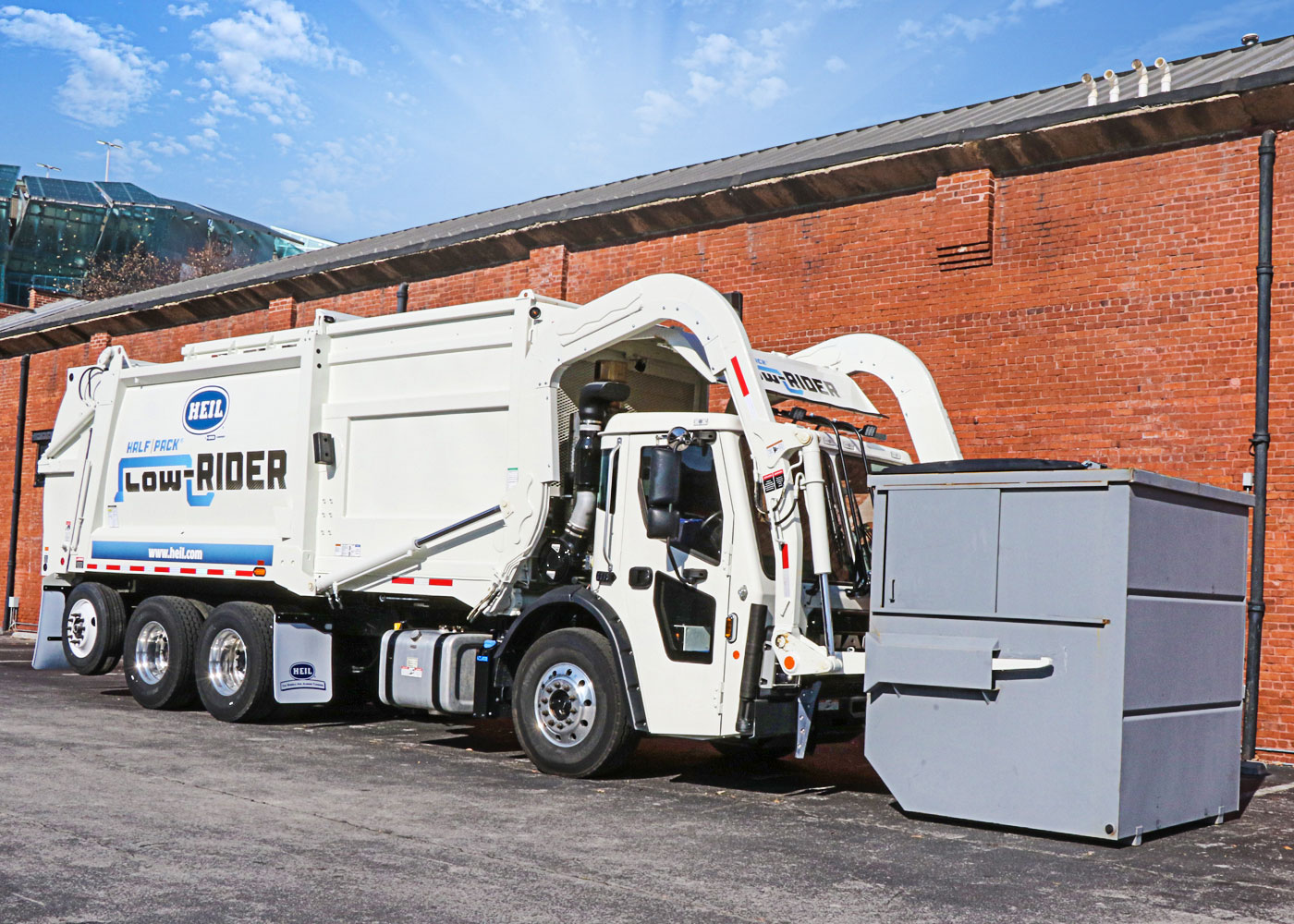 LowRider Commercial Frontload Garbage Trucks