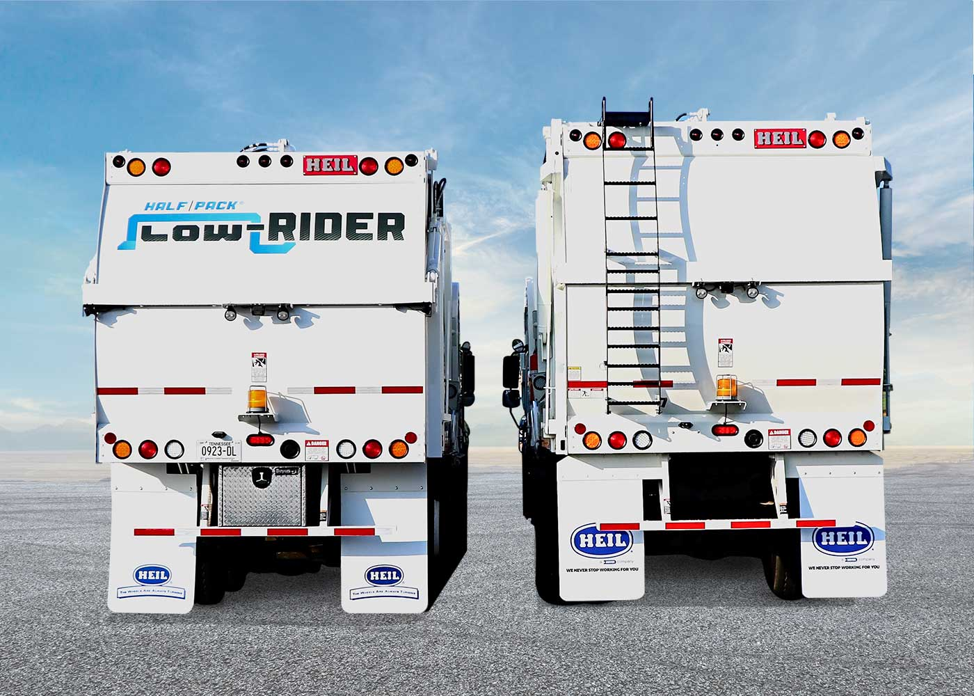Low Profile Frontload Garbage Truck