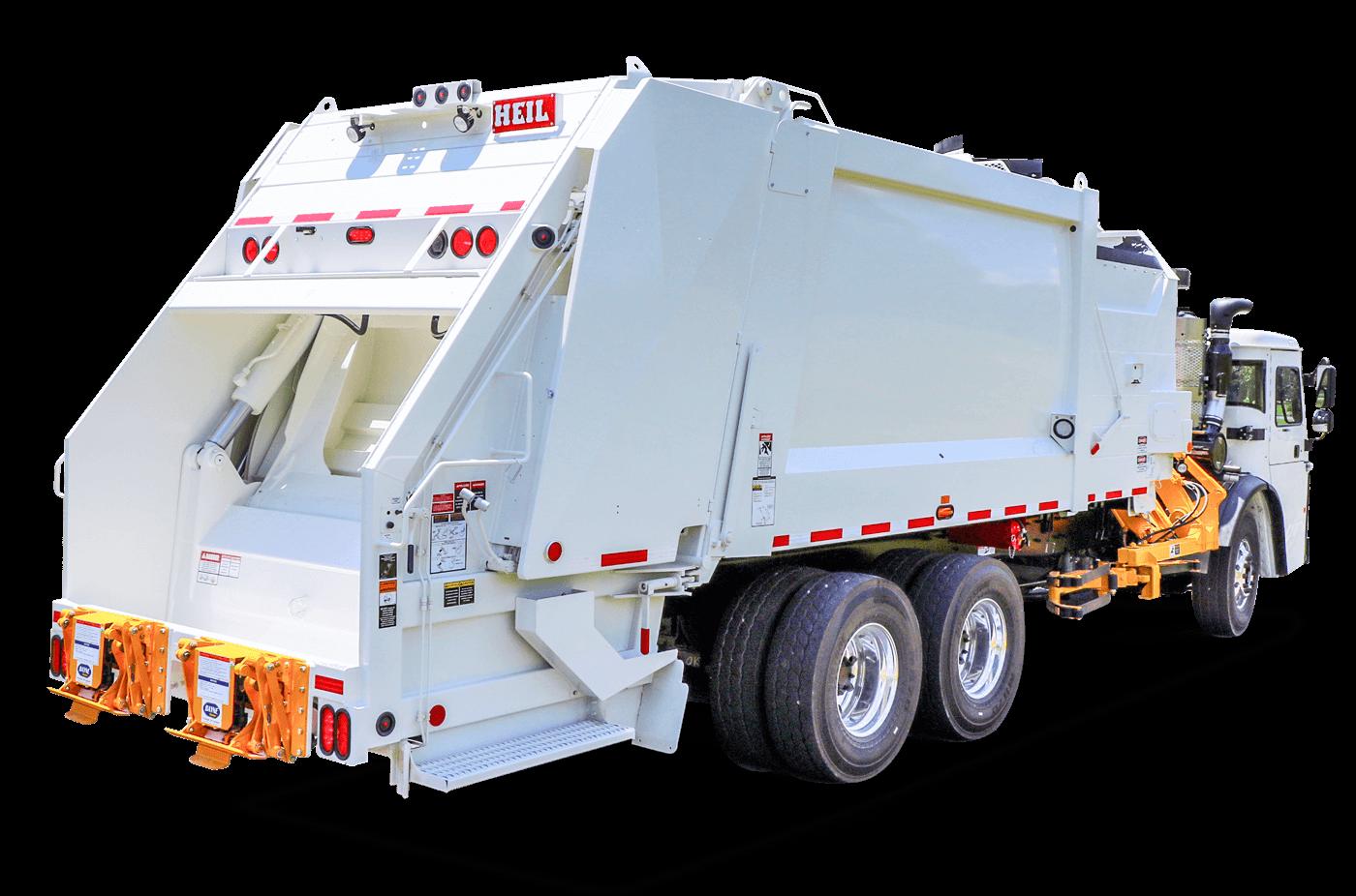 Multipack Sideload Trash Trucks