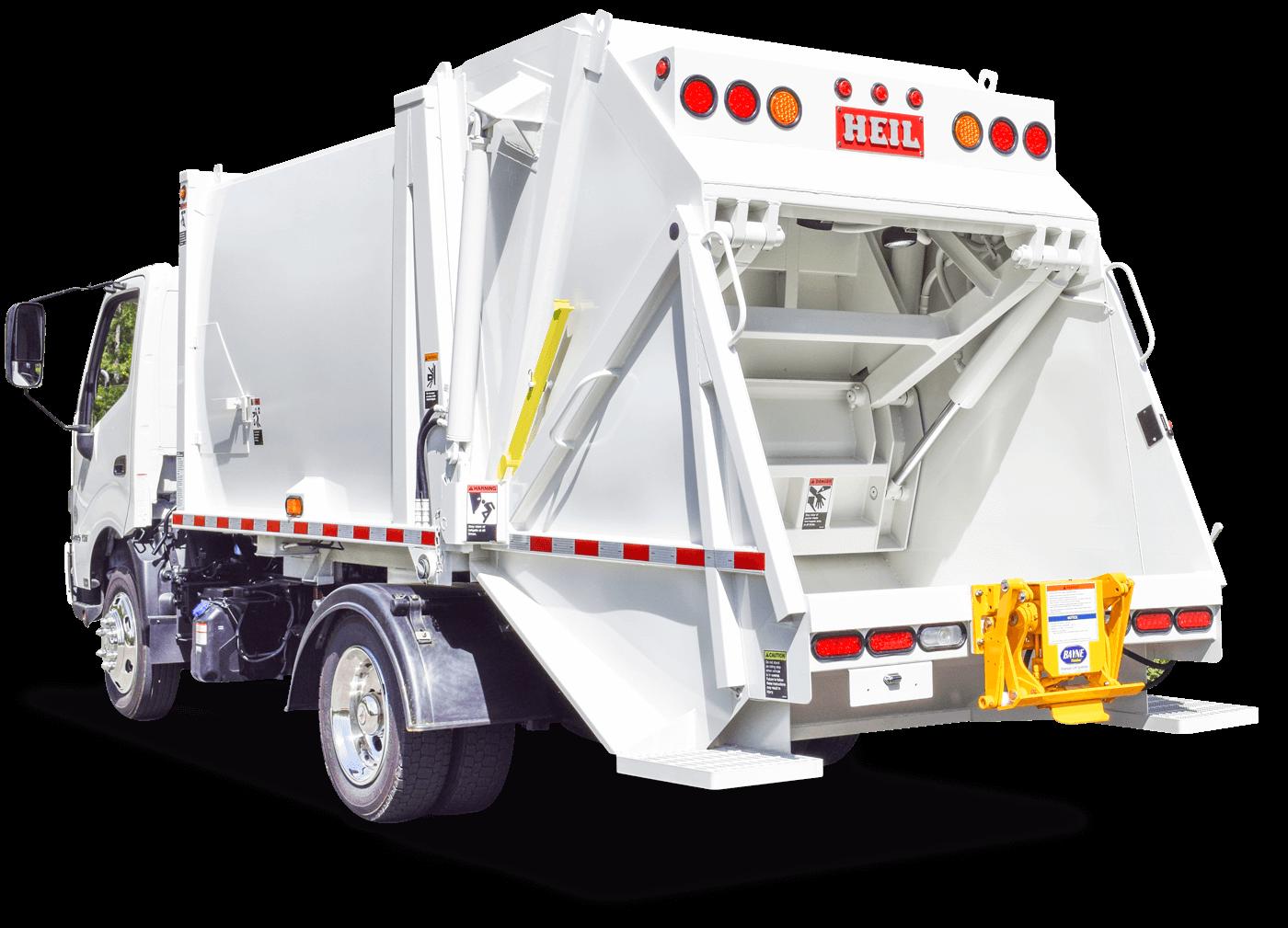 Non CDL Mini Rear Loader Trash Trucks