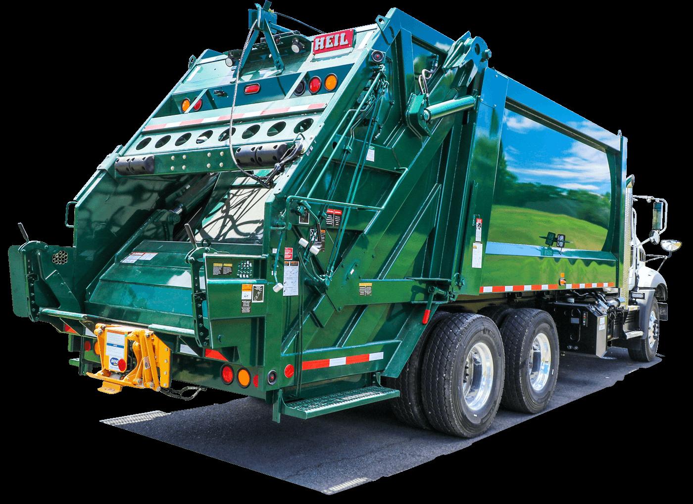 Powertrak Rear Load Trash Trucks