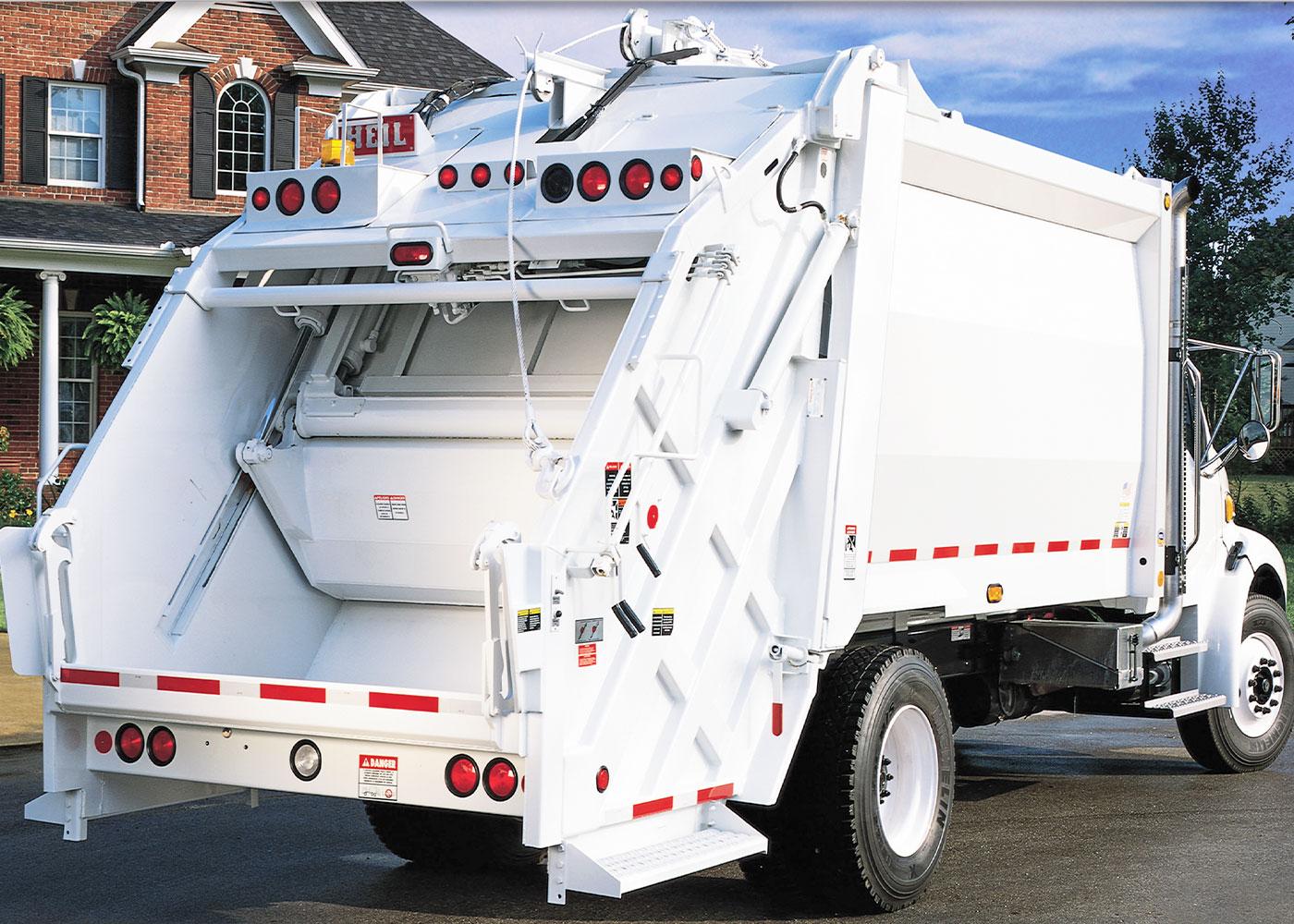 PT1000 Rear Load Garbage Trucks