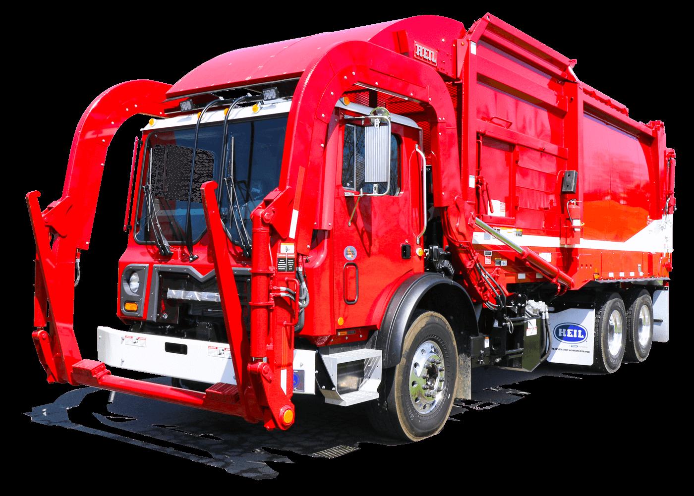 Sierra Commercial Frontload Trash Truck