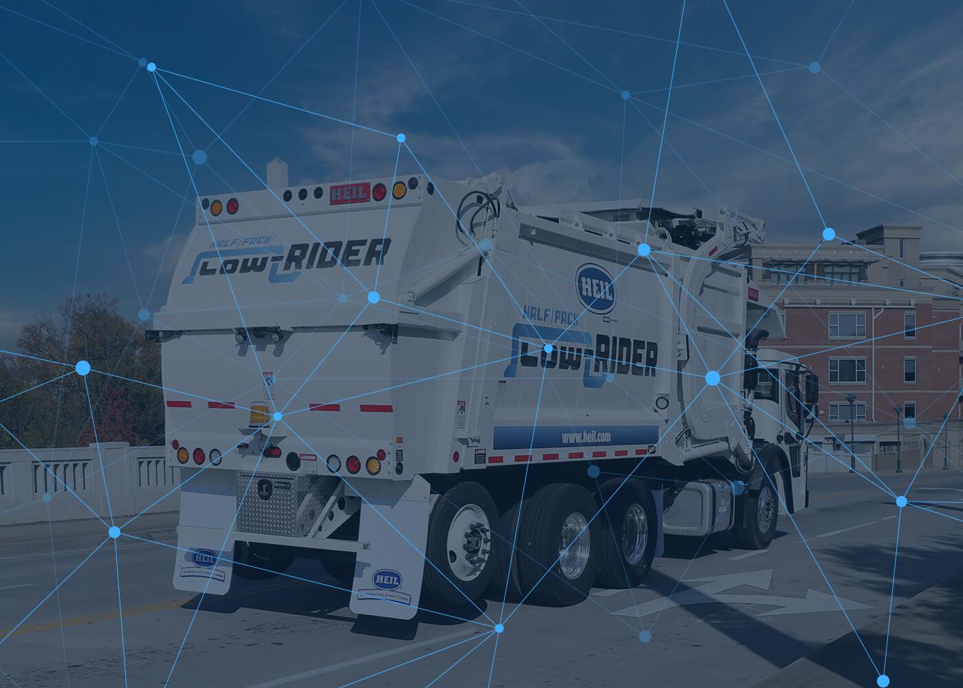 Garbage Truck Fleet Management Technology